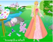Barbie as rapunzel online
